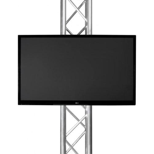 TV met truss beugel