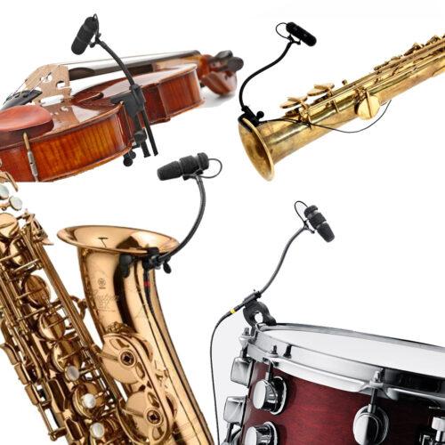 Microfoons instrumenten