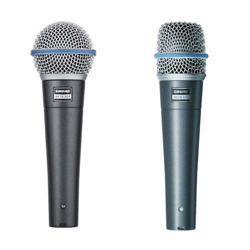 Microfoons zang / spraak